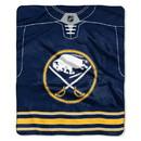 Buffalo Sabres Blanket 50x60 Raschel Jersey Design