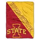 Iowa State Cyclones Blanket 46x60 Micro Raschel Halftone Design Rolled