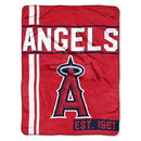 Los Angeles Angels Blanket 46x60 Micro Raschel Walk Off Design Rolled Special Order
