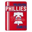 Philadelphia Phillies Blanket 46x60 Micro Raschel Walk Off Design Rolled Special Order