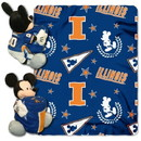 Illinois Fighting Illini Blanket Disney Hugger