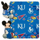 Kansas Jayhawks Blanket Disney Hugger
