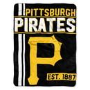 Pittsburgh Pirates Blanket 46x60 Micro Raschel Walk Off Design Rolled Special Order