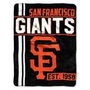 San Francisco Giants Blanket 46x60 Micro Raschel Walk Off Design