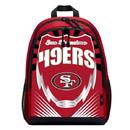 San Francisco 49ers Backpack Lightning Style