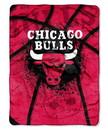 Chicago Bulls Blanket 60x80 Raschel
