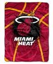 Miami Heat Blanket 60x80 Raschel