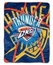 Oklahoma City Thunder Blanket 60x80 Raschel