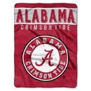 Alabama Crimson Tide Blanket 60x80 Raschel Basic Design