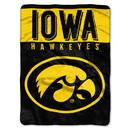 Iowa Hawkeyes Blanket 60x80 Raschel Basic Design