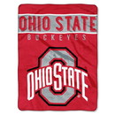 Ohio State Buckeyes Blanket 60x80 Raschel Basic Design