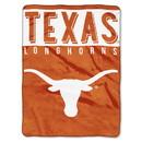 Texas Longhorns Blanket 60x80 Raschel Basic Design