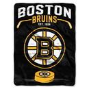 Boston Bruins Blanket 60x80 Raschel Inspired Design