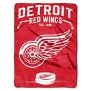Detroit Red Wings Blanket 60x80 Raschel Inspired Design