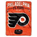 Philadelphia Flyers Blanket 60x80 Raschel Inspired Design Special Order