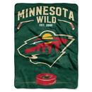 Minnesota Wild Blanket 60x80 Raschel Inspired Design