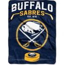 Buffalo Sabres Blanket 60x80 Raschel Inspired Design