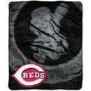 Cincinnati Reds Blanket 50x60 Raschel Retro Design