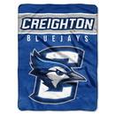 Creighton Bluejays Blanket 60x80 Raschel Basic Design - Special Order