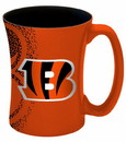 Cincinnati Bengals Coffee Mug - 14 oz Mocha