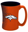 Denver Broncos Coffee Mug - 14 oz Mocha