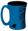 Carolina Panthers Coffee Mug - 14 oz Mocha