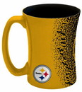 Pittsburgh Steelers Coffee Mug - 14 oz Mocha