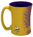 Minnesota Vikings Coffee Mug - 14 oz Mocha
