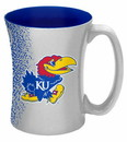Kansas Jayhawks Coffee Mug - 14 oz Mocha