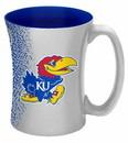 Kansas Jayhawks Coffee Mug - 14 oz Mocha