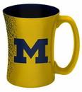 Michigan Wolverines Coffee Mug - 14 oz Mocha