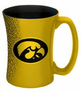 Iowa Hawkeyes Coffee Mug - 14 oz Mocha