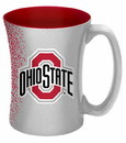 Ohio State Buckeyes Coffee Mug - 14 oz Mocha