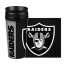 Oakland Raiders Travel Mug 14oz Full Wrap Style Hype Design