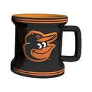 Baltimore Orioles Shot Glass - Sculpted Mini Mug - New UPC