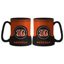 Cincinnati Bengals Coffee Mug - 18oz Game Time (New Handle)