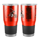 Cleveland Browns Travel Tumbler 30oz Ultra Orange