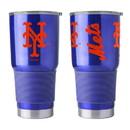 New York Mets Travel Tumbler 30oz Ultra Blue