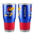 Kansas Jayhawks Travel Tumbler 30oz Ultra Blue - Special Order