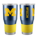 Michigan Wolverines Travel Tumbler 30oz Ultra Navy