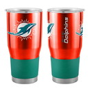 Miami Dolphins Travel Tumbler 30oz Ultra Orange