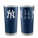 New York Yankees Travel Tumbler 20oz Ultra Navy