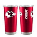 Kansas City Chiefs Travel Tumbler 20oz Ultra Red