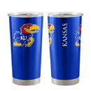 Kansas Jayhawks Travel Tumbler 20oz Ultra Blue