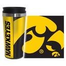 Iowa Hawkeyes Travel Mug - 14 oz Full Wrap - Hype Style