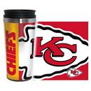 Kansas City Chiefs Travel Mug - 14 oz Full Wrap - Hype Style