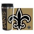 New Orleans Saints Travel Mug 14oz Full Wrap Style Hype Design