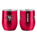 San Francisco 49ers Travel Tumbler 16oz Ultra Curved Beverage