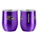 Baltimore Ravens Travel Tumbler 16oz Ultra Curved Beverage