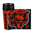Chicago Bears Travel Mug 14oz Full Wrap Style Hype Design